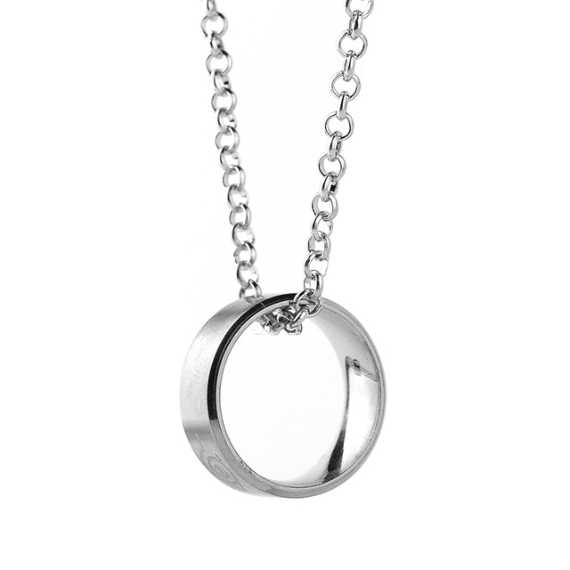 Naruto Necklace with Konoha Ring