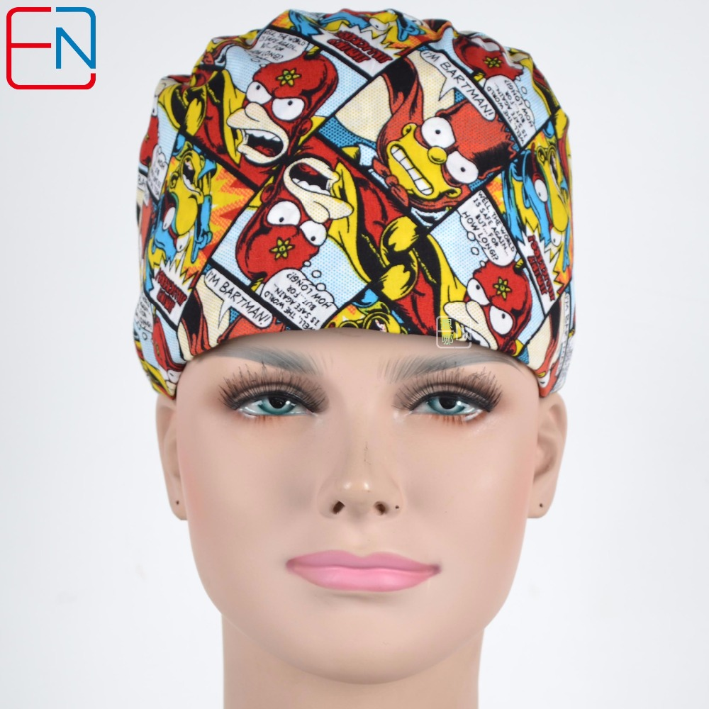Unisex Surgical Caps With Sweatband In 100% Cotton