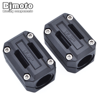 BJMOTO Motorcycle Engine Guard Protection Bumper Decorative Block Modified 25mm Crash Bar For BMW R1200GS LC