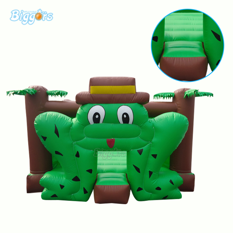 Factory Price Outdoor And Indoor Commercial Inflatable Frog Bouncer Bouncy Castle With Blowers tarpaulin inflatable bouncy castle bouncer for children party indoor