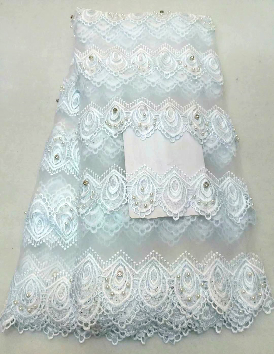 Handmade Beads African High Quality Nigerian 3D French Lace Fabric 2018 Heavy Beaded Tulle Net French Mesh Lace MateriaHandmade Beads African High Quality Nigerian 3D French Lace Fabric 2018 Heavy Beaded Tulle Net French Mesh Lace Materia