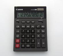 1 Piece Genuine Canon AS-2222 unique curved fuselage calculator 12 Large Screen display Calculator