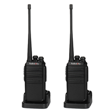 2 pcs Radioddity GA-2S Walkie Talkie 400-470MHz 2W 1500mAh Two Way Radio Rechargeable VOX  Long Range Security