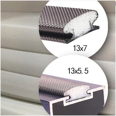 6m Quality PU Cladding Foam Seal Strip Slot Seal Retrofit Strip Resilient Gasket Door Seals 9x5.5 13x5.5 13x7mm White Brown Gray