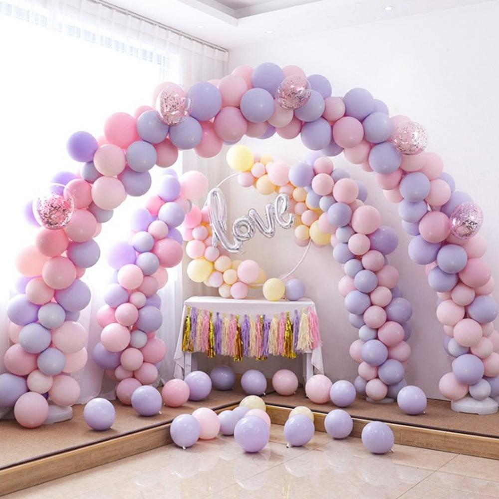 PATIMATE Round Wedding Balloons Decoration Latex Balloon Party Supplies Inflatable Ballons Birthday Party Helium Macaron Baloons in Ballons Accessories from Home Garden