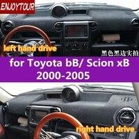 Dashmats samochodu stylizacji akcesoria pokrywa deski rozdzielczej dla Toyota bB Scion xB 2000 2001 2002 2003 2004 2005 na