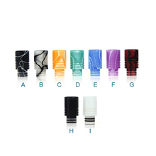 Sailing electronic cigarette 510 acrylic drip tips assorted colors for 510 thread tank RTA atomizer