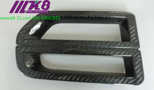 Carbon Fiber Front Bumper Air Ducts Intake Car Accessories Car Styling For L and Rover 4