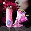 2016 New Masturbation Oral Sex Massage Tongue Chest G-Spot Vibrator Wand Massager Clit Vibrators Sex Toys For Woman Sex Toys-205