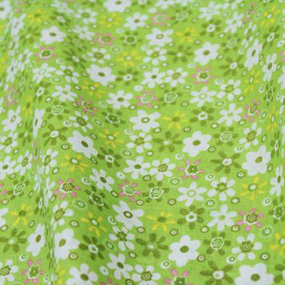 1 Pezzo Floreale Verde 50*50 Cm Stampato Tessuto 100% Cotone Per Patchwork Cucito Quilting, Tilda Cloth, Tessuto Per Portafogli Pb036