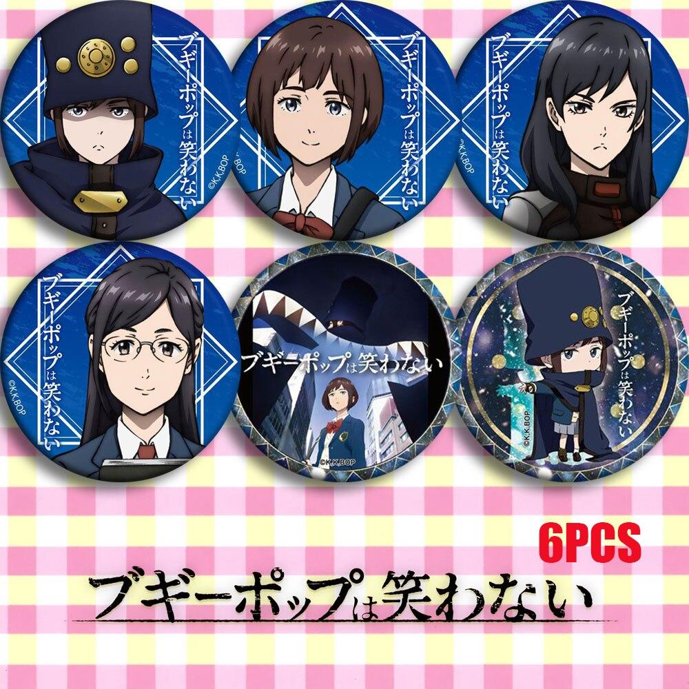 Anime Bugipoppu Wa Warawanai And Others Touka Miyashita Kimura Cosplay Bedge Collect Bags Badges For Backpack Button Brooch Pin
