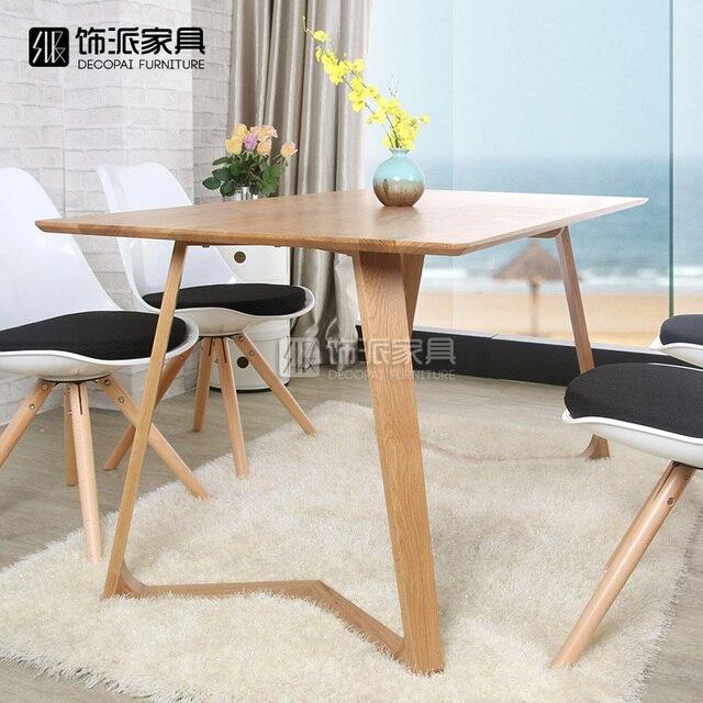 Sale Da Pranzo Moderne Ikea.Us 4070 0 Nordic Ikea Combinazione Di Semplice Ed Elegante E Moderno In Legno Massello Rovere Dinette Tavolo Da Pranzo Tavolo Da Pranzo Tavolo