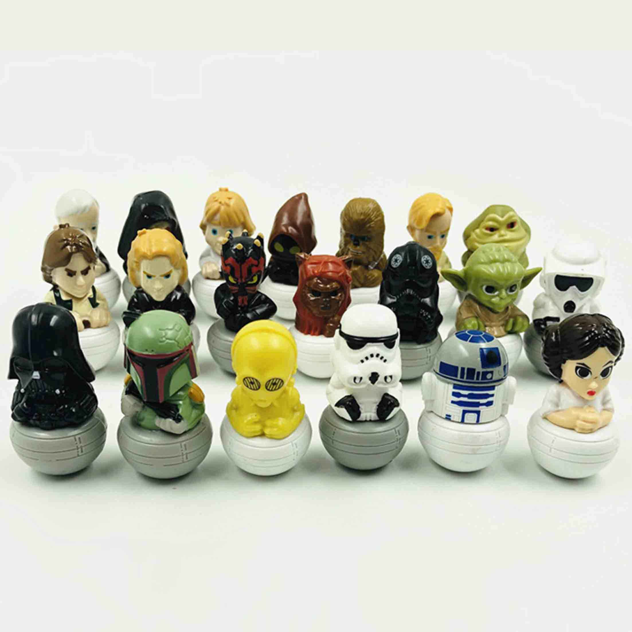1 pçs/lote modelo Star Wars Han Hano Anakin Darth Vader Yoda de Star Wars Action figure Toys personagens de Star Wars