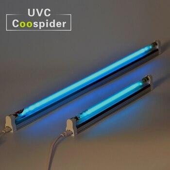 15 w Quarzo UV Germicida Lampada CFL Kit Uccidere gli acari Antivirus Deodorante Disinfezione UVC Ozono Spedizione 110 v-240 v