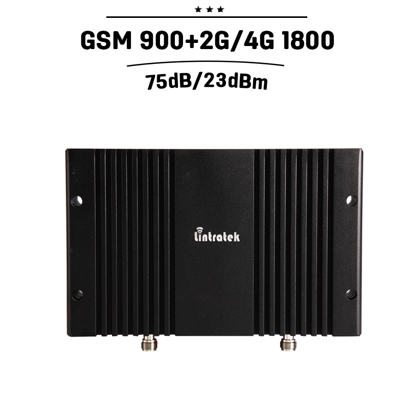 8000sqm Coverage GSM 900mhz 1800mhz Dual Band 75dB Gain Mobile Cellular Signal Booster GSM 900 DCS Cell Amplifier Repeater #25