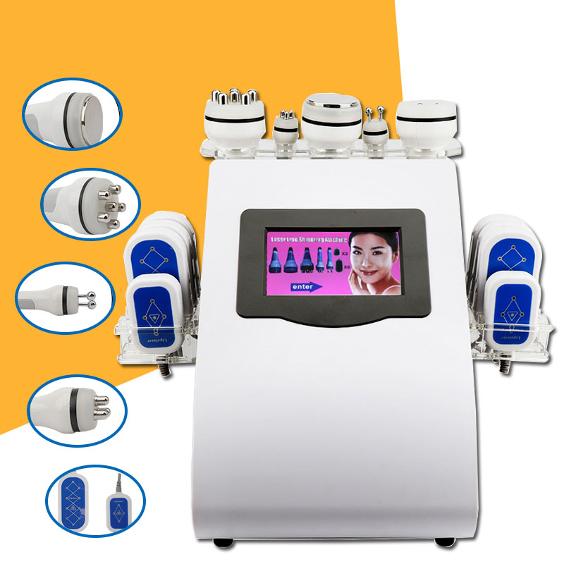 Cavitation Vacuum RF Cryolipolysis Machine Reduce Fat Ultrasonic Vacuum RF Cavitation 2020 New Machine
