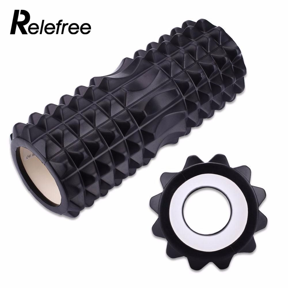 Yoga Training Fitness Trigger Point Foam Roller Rollers EVA For exercise back muscles Pilates Physical Massage Crossfit Crescent ...