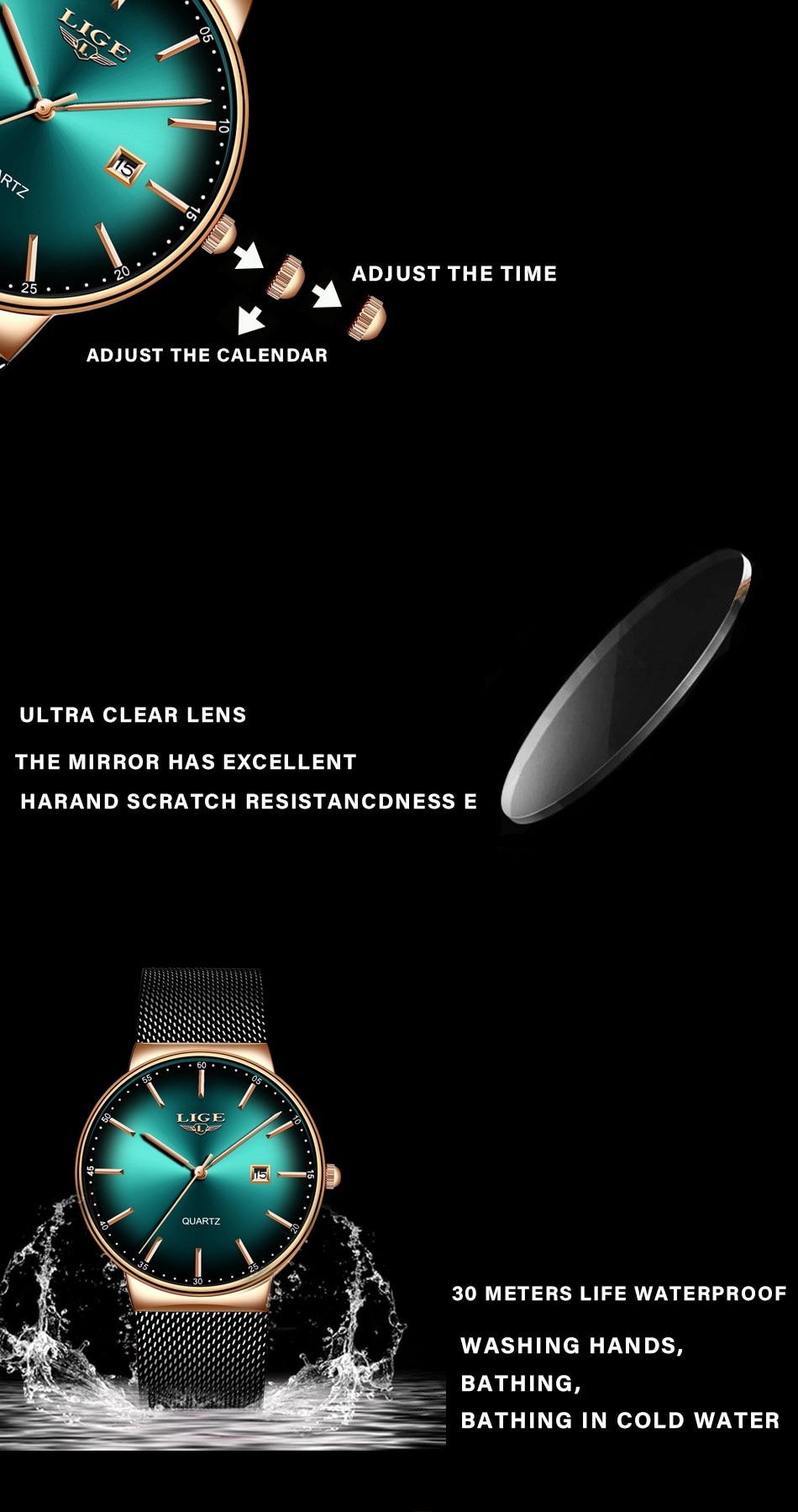 HTB16OpgTFzqK1RjSZFoq6zfcXXag LIGE Sports Date Mens Watches Top Brand Luxury Waterproof Fashion Cool Watch Men Ultra Thin Dial Quartz Watch Relogio Masculino