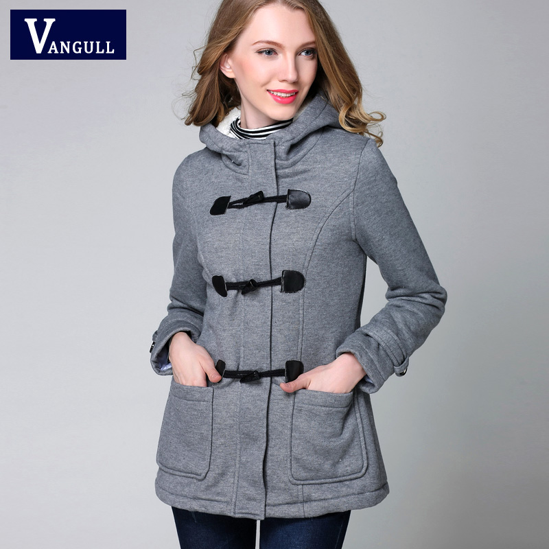 Vangull New Fashion Warm Winter Coat Women Thick Plus Size Hooded - Women's Clothing - Photo 1