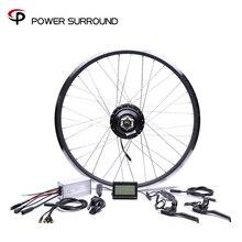Водонепроницаемый 48v500w Bafang передний/задний комплект для переоборудования электрического велосипеда бесщеточный мотор ступицы 20 ''26'' 28 ''DIY колеса