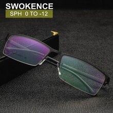 Prescription Glasses SPH -0.5 to -12 For Myopia Men Customiz
