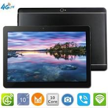 CARBAYTA Планшеты S109 10,1 'WI-FI 10 Core 128 GB Встроенная память двойной Камера 8MP Android 8,0 Tablet PC 4G LTE gps bluetooth телефон MT6797