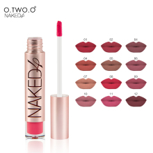 O.TWO.O Naked Brand High Quality Matte Color Lip Gloss Easy to Wear Long Lasting Kyli Lips Makeup Lipstick Liquid Lipgloss Matte