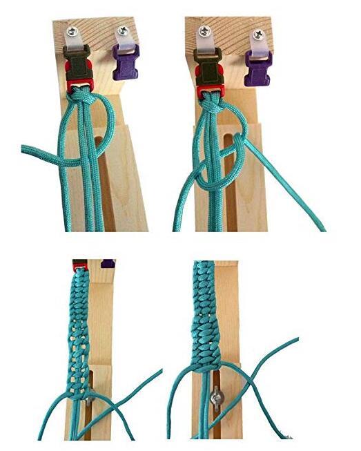 lateral fivela de plástico cinto máquina paracord