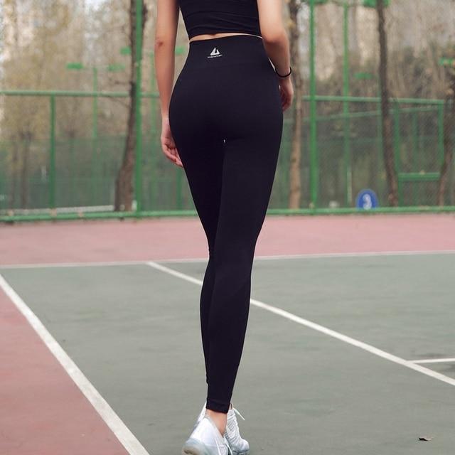 High Waist Women Yoga Pants Fitness Running Breathable Training Pants Hot Ass Girl Pants