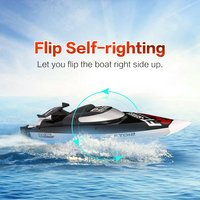 FeiLun FT012 2.4G Brushless Speedboat 45km/h High Speed RC Racing Boat Ship Water Cooling Self righting System RC Boat Toy Hobby