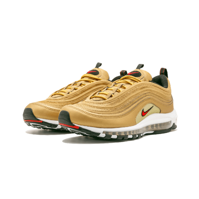 Official New Arrival Nike Air Max 97 OG QS 2017 RELEASE Men's Running Shoes,Original Breathable Outdoor Sports Shoes 884421-700