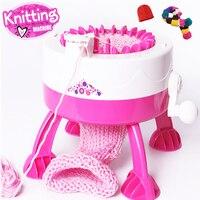 Hot Children Knitting Machine Yarn Child Machine Knitted Sweater Hat DIY Weaver Tools