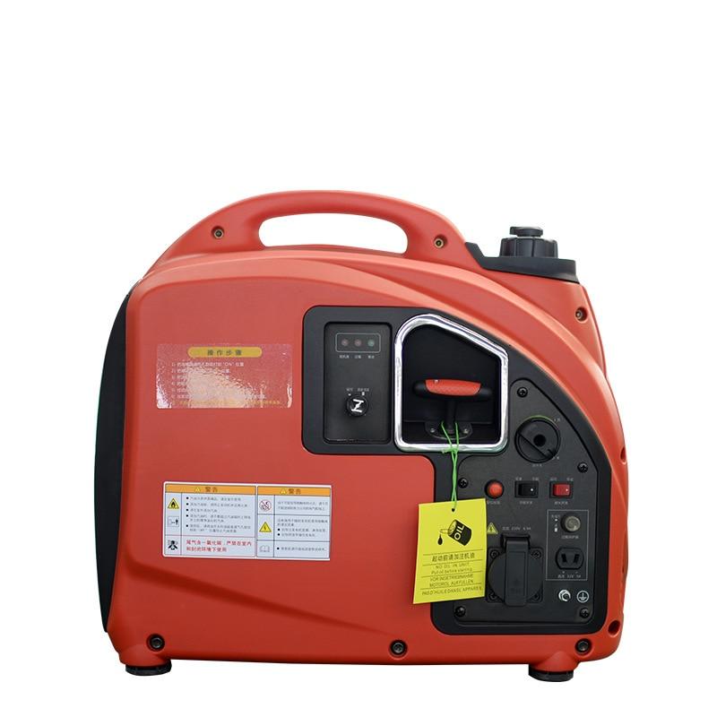 Небольшой бензиновый генератор 2 кВт Цифровой инвертор бензиновый генератор 2 кВт бытовой миниатюрный Бесшумный Генератор