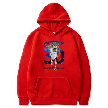 Stephen Curry Men pullovers hoodies sweatshirt Golden State Clothing streetwear casual tracksuit Warriors USA basketballer star 3