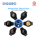 Diggro S99 3G Wifi Smart Phone Support SIM Card Android 5.1 Bluetooth Fitness Tracker Camera Watch for Android Phone MTK6580