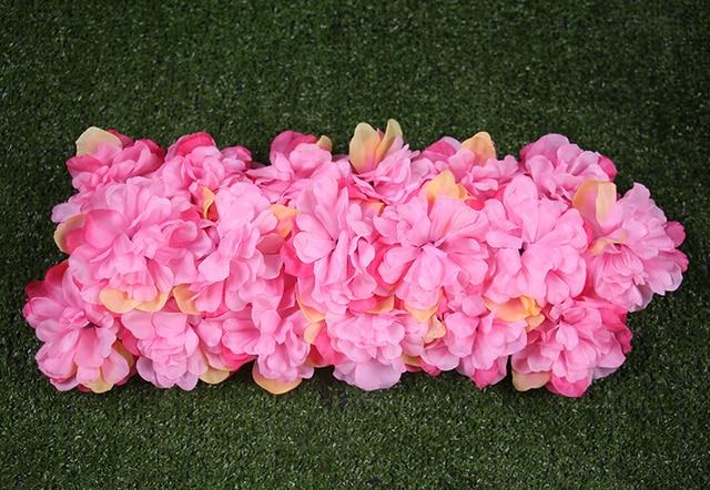 13954 Envío Gratis 4 Colores 20 Unidslote Gran Arreglo Floral Boda Arco Cuadrado Pabellón Esquinas Accesorios Decorativos Flor De Seda En