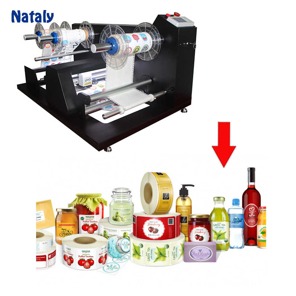 Automatic Sticker label Paper  Roll Cutting Machine Made In China