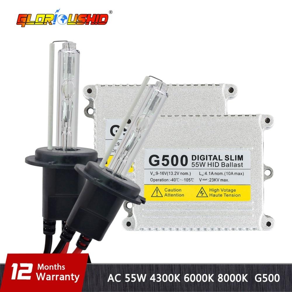 Xenon H4 Yüksək keyfiyyətli H1 H3 H4 H7 H11 9005 9006 881 55W 12V - Avtomobil işıqları