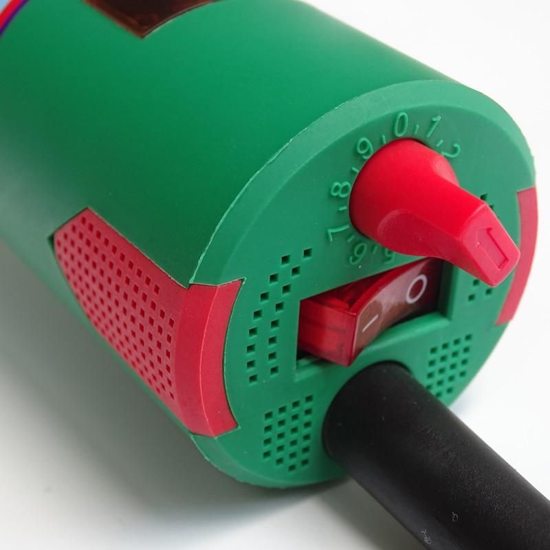 HKBST meleg levegős műanyag hegesztőpisztoly LED-del, - Hegesztő felszerelések - Fénykép 5