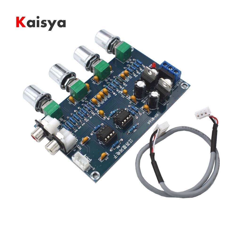 Ne5532 Hifi 51 Passe Bas 50 150hz Ton Conseil Pour Amplificateur Hi Fi Bass Treble Circuit Xh M164 Texas Audio Pitch Music Mixer Adjustment Amp Board C2