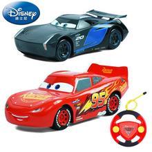 Big 32cm Genuine Disney Pixar Cars 3 Lightening Mcqueen Cruz jackson storm race Car with remote controller Children's toy gift 1pc genuine disney pixar cars 3 lightening macqueen car toys for children boys car race xmas gifs pull back cars kids toy no box