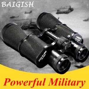 Image 1 - Binoculares militares de Metal HD, Lll, telescopio de visión nocturna, gran angular de bolsillo, Min, zoom ruso, Monocular Baigish 20X50