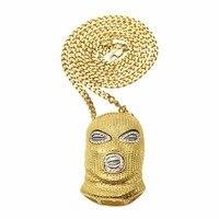 2017 New Counter Terrorism Head Pendant Nightclub Bar ICONS Necessary Set Auger Hip Hop Necklace Pendant