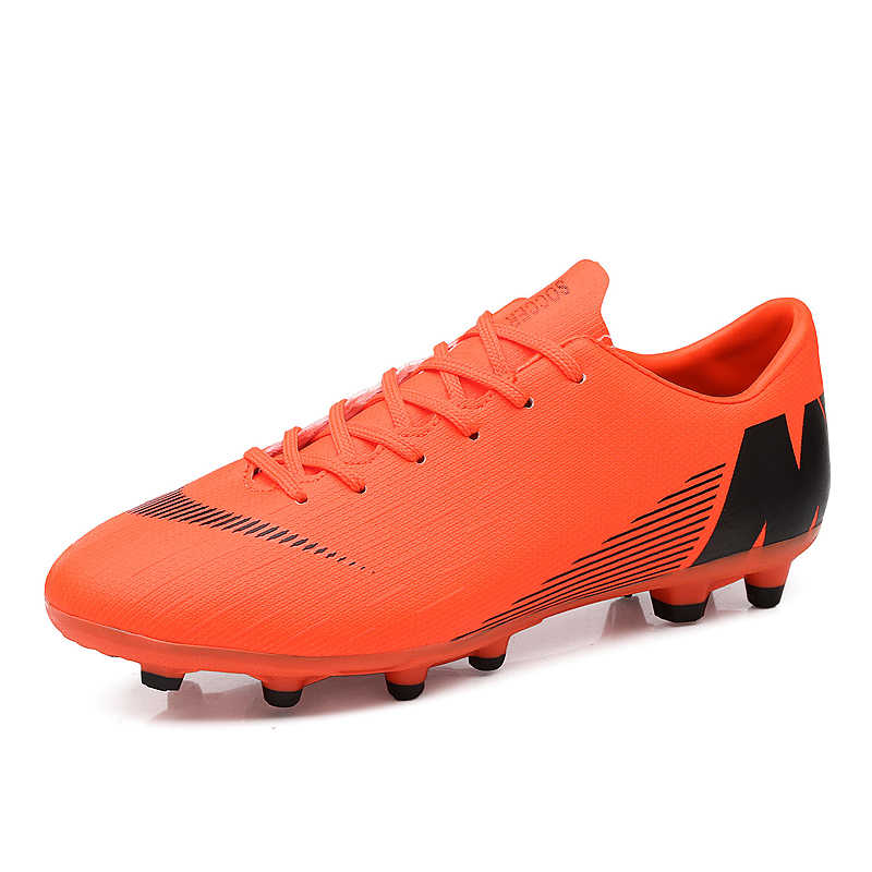 50% off top brands buy online Outdoor Soccer Shoes Men Boys Football Cleats Shoes Outdoor Lawn ...