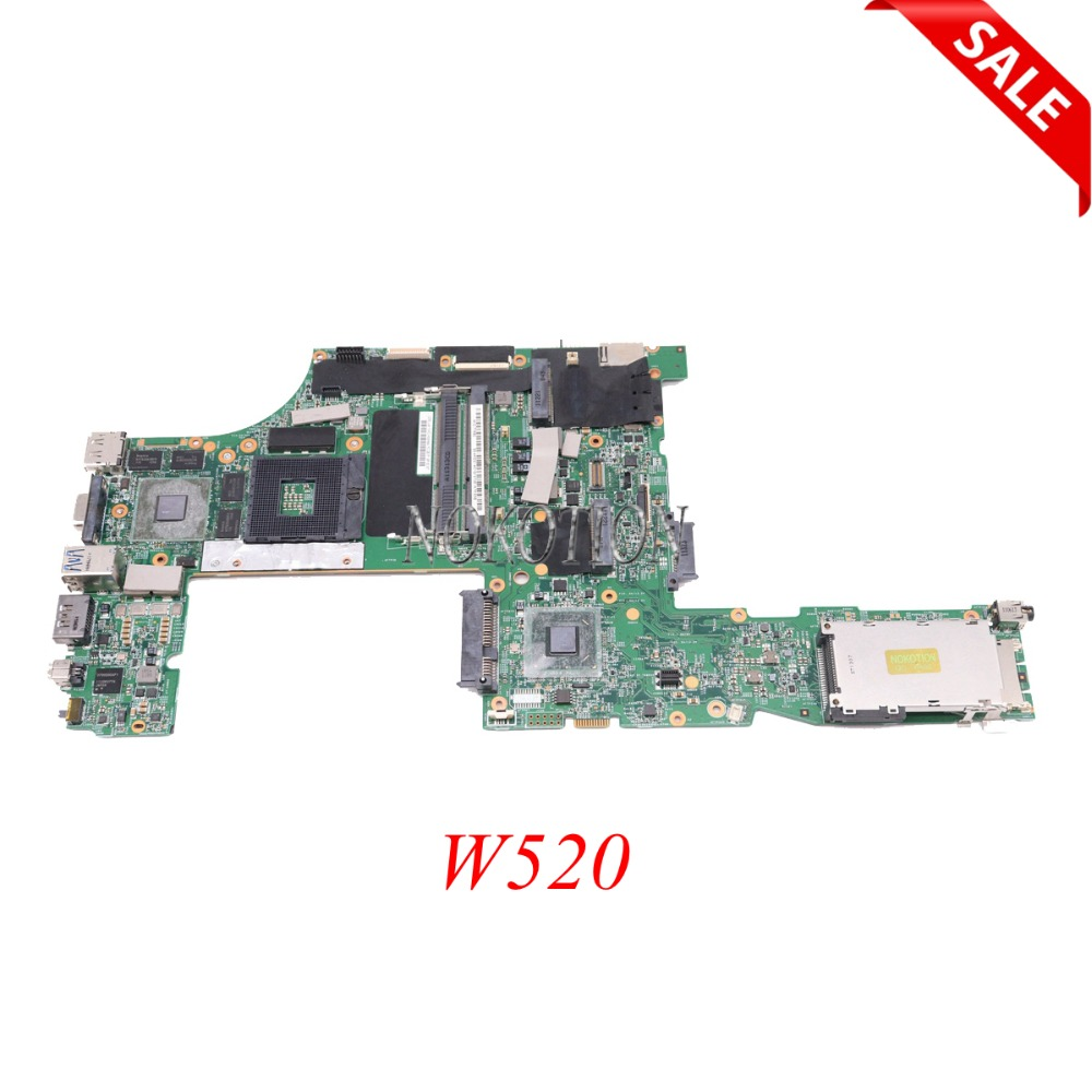 NOKOTION FRU 04W2028 04W2036 for Lenovo ThinkPad W520 N12P-Q1-A1 48.4KE36.021 04W2030 Q1 Quadro 1000M Laptop Motherboard QM67 n12p q1 a1