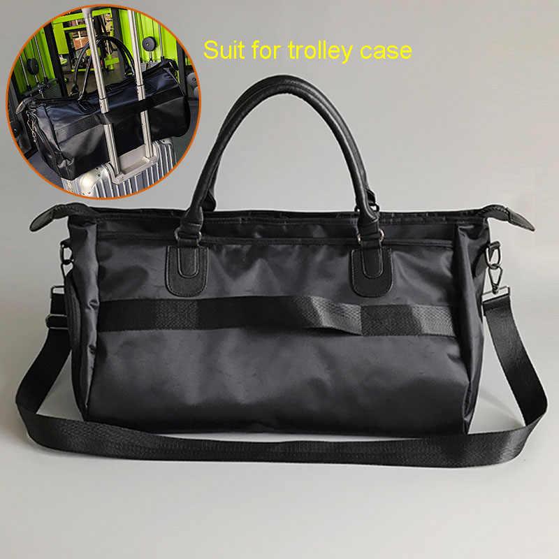 05d6e1d6c967 ... Fitness Gym Bag for Handbags shoes Portable Training bags GYmtas women  Travel Yoga sac de sport ...