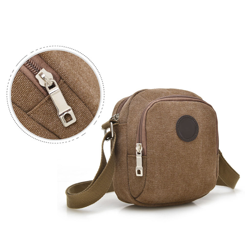Vintage Canvas Men's Crossbody Over Shoulder Messenger Bags Handbag Leisure Travel  Bag  WML99