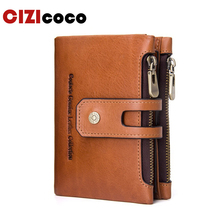 Genuine Leather Men Wallet Men Walet Zipper&Hasp Male Portomonee Short Coin Purse Brand Perse Carteira For Rfid jinbaolai genuine leather men wallet small men walet zipper hasp male portomonee short coin purse brand purse carteira for rfid