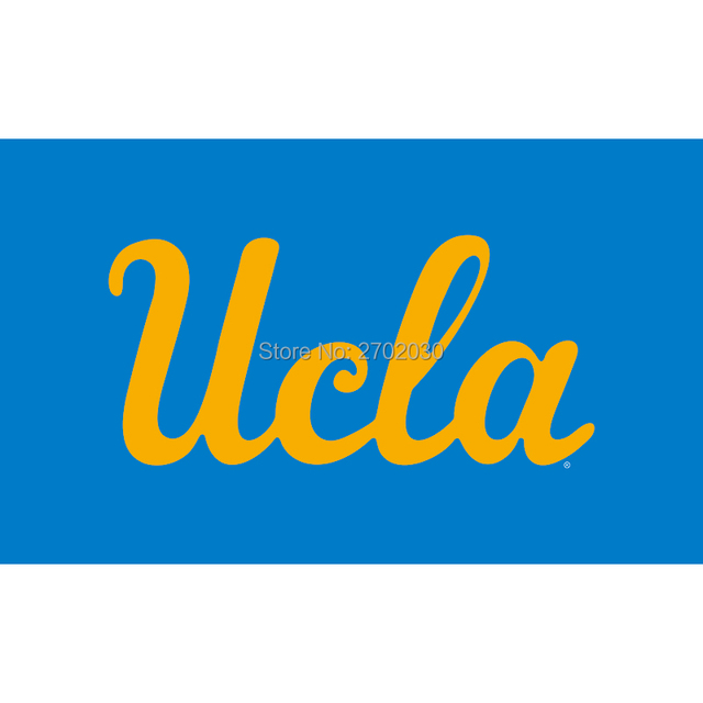 UCLA Bruins Wordmark Flag NCAA Large 3x5 California University College Basketball 90x150cm