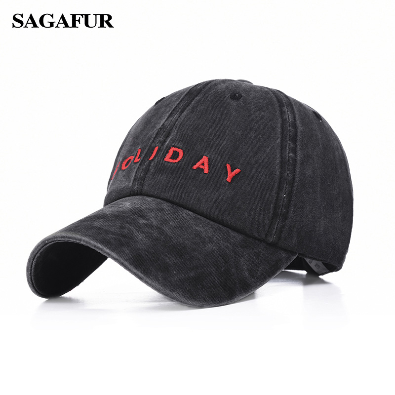 Buy Cotton Baseball Cap Snapback Mens Hat Youth Letter Print Unisex Women Men Hats Casual Caps Summer 2019 Brand New for only 7.13 USD